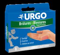 URGO BRULURES-BLESSURES PETIT FORMAT x 6 à VOIRON
