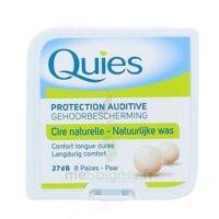 QUIES PROTECTION AUDITIVE CIRE NATURELLE 8 PAIRES à VOIRON