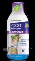 4321 Minceur 4 Actions Solution buvable Fl/280ml à VOIRON
