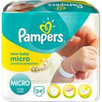 PAMPERS COUCHES NEW BABY MICRO 1-2,5 KG x 24 à VOIRON