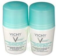 VICHY TRAITEMENT ANTITRANSPIRANT BILLE 48H, fl 50 ml, lot 2 à VOIRON