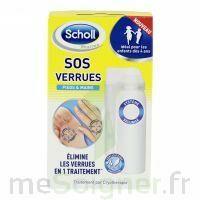 Scholl SOS Verrues traitement pieds et mains à VOIRON