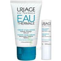 Uriage Eau Thermale Crème d'eau mains T/30ml+Stick lèvres à VOIRON