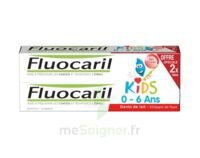 Fluocaril Kids Gel dentifrice Fraise 0/6ans 2*50ml à VOIRON