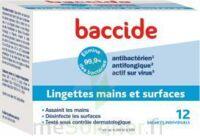 Baccide Lingette désinfectante mains & surface 12 Pochettes à VOIRON