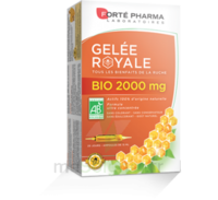 Forte Pharma Gelée royale bio 2000 mg Solution buvable 20 Ampoules/15ml à VOIRON