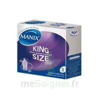 Manix King Size Préservatif avec réservoir lubrifié confort B/3 à VOIRON