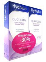 Hydralin Quotidien Gel lavant usage intime 2*200ml à VOIRON