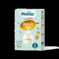 Modilac Céréales Farine Biscuit miel à partir de 6 mois B/300g à VOIRON