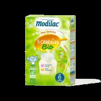 Modilac Céréales Farine 5 Céréales bio à partir de 6 mois B/230g à VOIRON