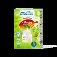 Modilac Céréales Farine 4 Fruits quinoa bio à partir de 6 mois B/230g à VOIRON