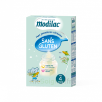 Modilac Céréales Farine Sans gluten à partir de 4 mois B/300g à VOIRON